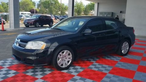 Pre-Owned 2012 Dodge Avenger SE FWD 4D Sedan