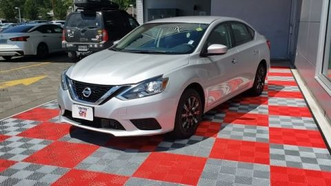Certified Pre-Owned 2018 Nissan Sentra S FWD 4D Sedan