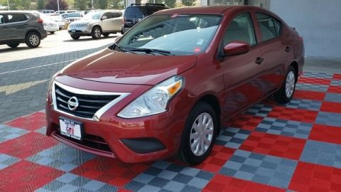 Certified Pre-Owned 2019 Nissan Versa 1.6 S Plus FWD 4D Sedan